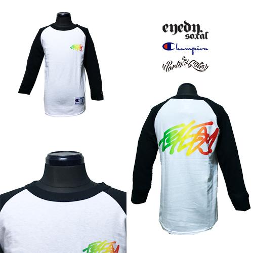 チャンピオン/CHAMPION/ポルタアンドゲート/PORTAANDGATE/RASTA LOGO BASEBALL T-SHIRT(ラグラン/ベースボールTシャツ)06