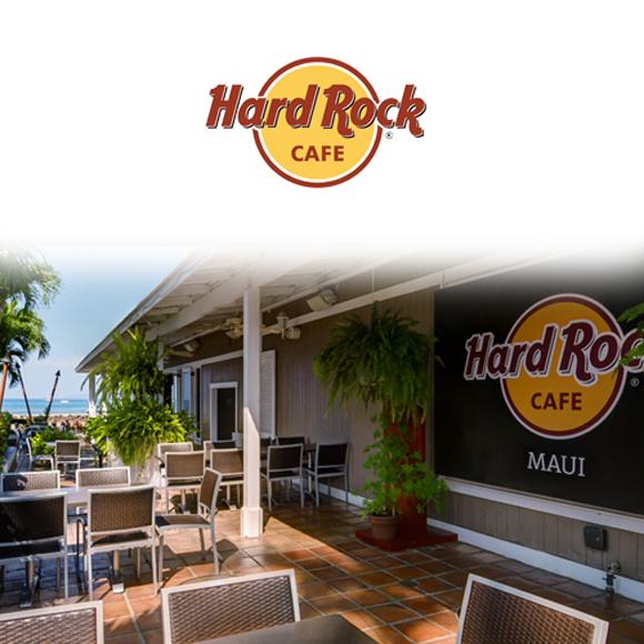 ポルタアンドゲートPORTAANDGATEHard Rock CAFE【ハードロックカフェ】MAUI ISLAND LIMITED MODEL S/S T-SHIRT(マウイ島限定モデル半袖Tシャツ ホワイト/ブラック)4