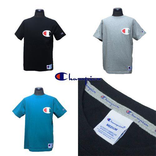 チャンピオン【CHAMPION 】BIG LOGO EMBROIDERY S/S T-SHIRTS 3COLOR(ビッグロゴ刺繍半袖Tシャツ/3カラー)2