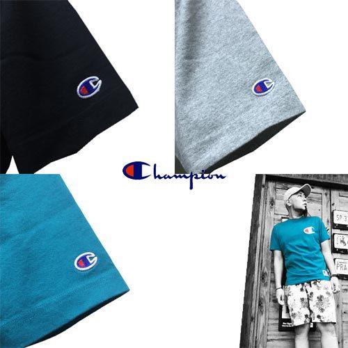 チャンピオン【CHAMPION 】BIG LOGO EMBROIDERY S/S T-SHIRTS 3COLOR(ビッグロゴ刺繍半袖Tシャツ/3カラー)4