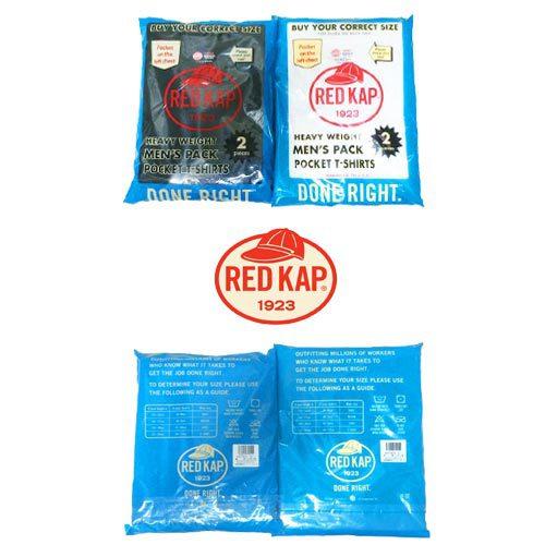 ポルタアンドゲートPORTAANDGATEレッドキャップ【RED KAP 】6.7oz CREW NECK ONE POCKET 2PACK S/S T-SHIRTS(クルーネックワンポケット2パックTシャツ)03