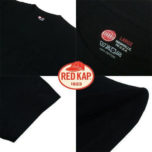 ポルタアンドゲートPORTAANDGATEレッドキャップ【RED KAP 】6.7oz CREW NECK ONE POCKET 2PACK S/S T-SHIRTS(クルーネックワンポケット2パックTシャツ)02