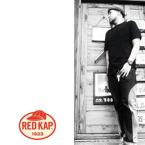 ポルタアンドゲートPORTAANDGATEレッドキャップ【RED KAP 】6.7oz CREW NECK ONE POCKET 2PACK S/S T-SHIRTS(クルーネックワンポケット2パックTシャツ)
