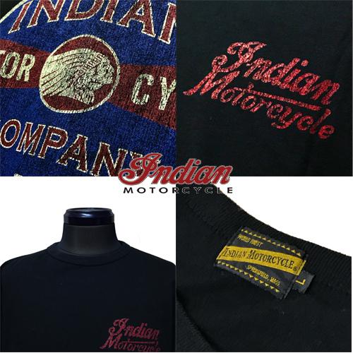 インディアンモーターサイクル【INDIAN MOTORCYCLE 】OLD INDIANS PRINT S/S T-SHITRS (オールドインディアンズプリントTシャツ)03
