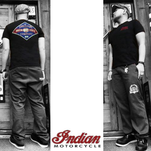 インディアンモーターサイクル【INDIAN MOTORCYCLE 】OLD INDIANS PRINT S/S T-SHITRS (オールドインディアンズプリントTシャツ)04