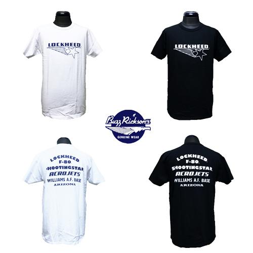 ポルタアンドゲートPORTAANDGATEバズリクソンズ【BUZZRICKSONS 】LOCKHEED MARTIN SHOOTINGSTAR S/S T-SHIRT(ロッキードマーチンシューティングスター半袖Tシャツ)02