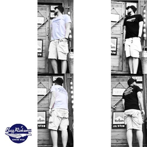 ポルタアンドゲートPORTAANDGATEバズリクソンズ【BUZZRICKSONS 】LOCKHEED MARTIN SHOOTINGSTAR S/S T-SHIRT(ロッキードマーチンシューティングスター半袖Tシャツ)04