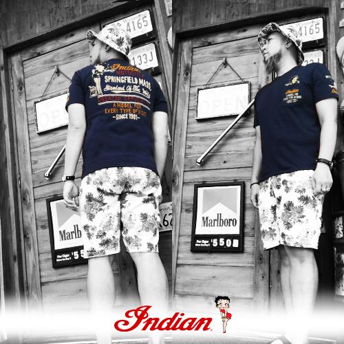 インディアンモーターサイクル【INDIAN MOTORCYCLE 】BETTYBOOP EMBROIDERY S/S T-SHIRT(ベティーブープコラボ刺繍半袖Tシャツ)送料無料04