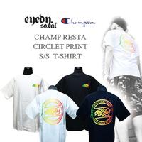 2018年新作 × EYEDY / CHAMPIOINコラボTシャツ × ラスタプリントTシャツ