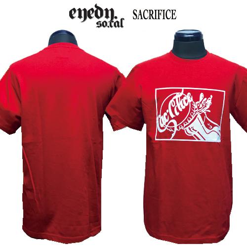 ポルタアンドゲートPORTAANDGATEアイディー/EYEDY/サクリファイス/SACRIFICE/SACCOLA DESIGN PRINT S/S T-SHIRT(サックコーラデザイン半袖Tシャツ)02
