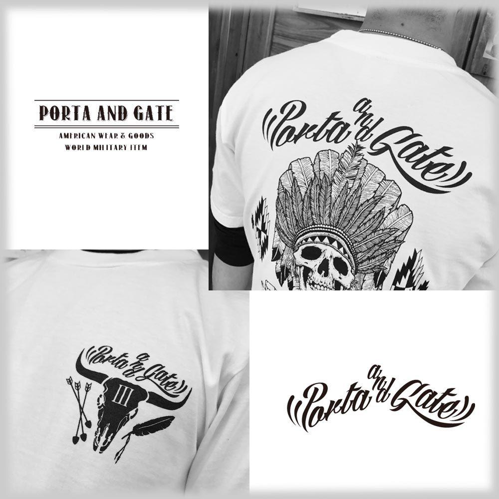 ポルタアンドゲート【PORTA AND GATE】3RD ANNIVERSARY T-SHIRTS(3周年記念Tシャツ)2017年、12