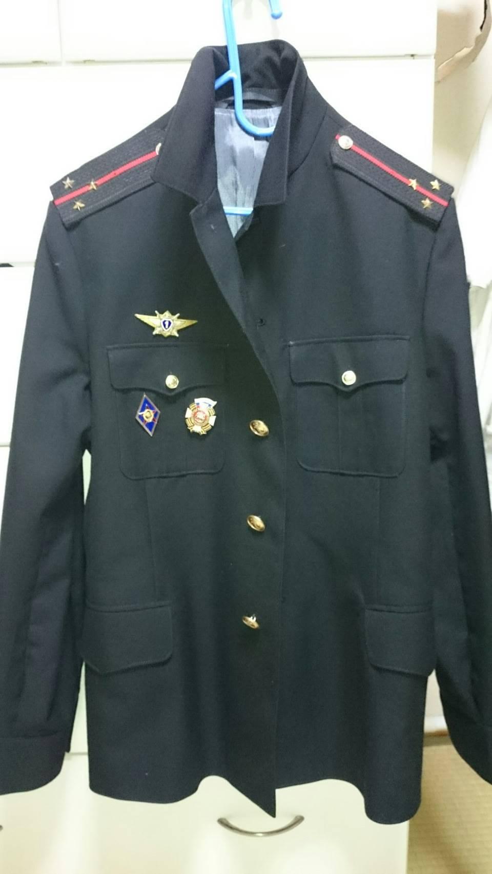 常服 海軍歩兵