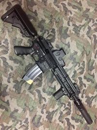 VFC HK416D gen2 盛付け (*´꒳`*)