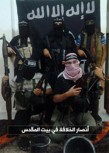 ゲリラの春:イスラム国とは違い...