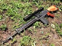 64式小銃 分解(前側)
