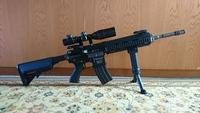 マークスマンライフル風HK416