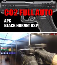 【 CO2 フルオート】 BLCK HORNET BSP 実射レビュー動画