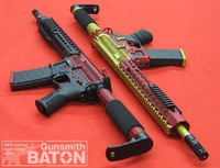 [ APS airsoft ] FMR MOD1 GR & RB 【BATON レビュー】