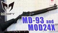 【セミオートガスショットガン】 MD-93 ( MOSSBERG 930 ) and MOD24X 【新製品速報】