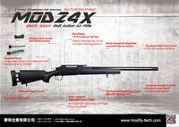 世界最高峰のスナイパーライフル 『 MOD24X 』 5月発売でご予約開始!