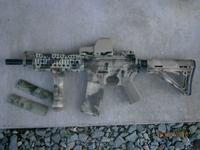 M4A-TACSのハンドガード