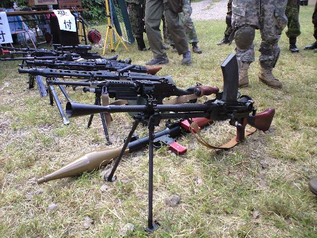 機関銃!機関銃♪機関銃!?
