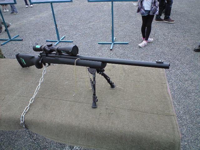 対人狙撃銃