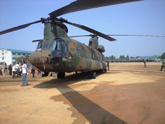 ヘリコプター体験搭乗