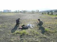 安倍川練習場所