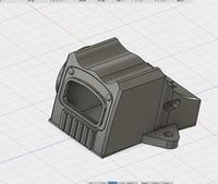L85 SHILD RDS カバー?3Dプリンターでの制作