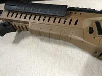 ARX160 アンダーレイルを20mm化 mk2