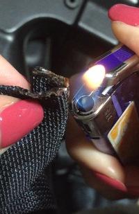 スリング炙って溶かしてみた2〜火炙りする時は気を付けよう