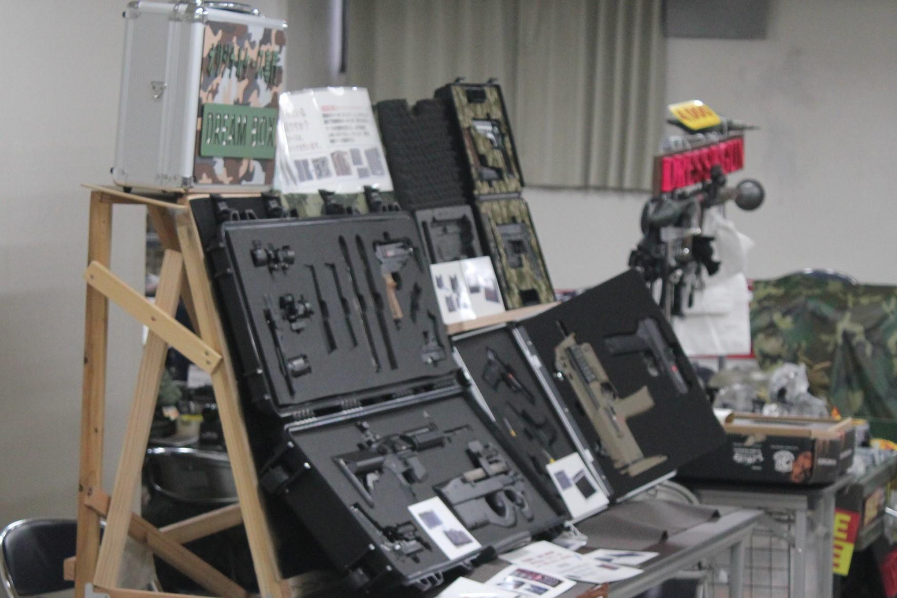 ミリタリーフェスタ展示ブース「DREAM BOX」