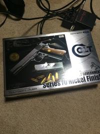 僕の持っている銃 4丁目 ~東京マルイ M1911A1 ガバメント ニッケルフィニッシュver~
