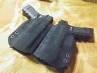 2丁拳銃用ホルスター