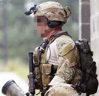 【米陸軍SFG、75th RANGERの定番マルチカムM4ポーチ!!】EAGLE