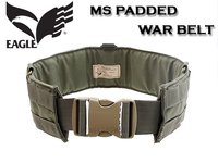 EAGLE製 PADDED WAR BELT で盛り盛りと…