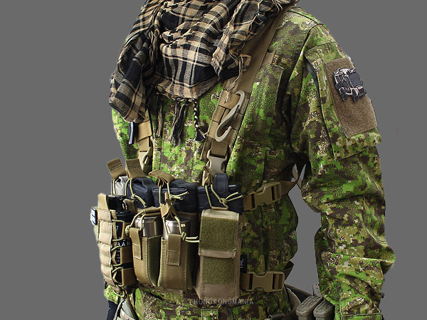 ●TMC● D-Mittsu Chest Rig-4-