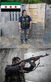 自由シリア軍 ちうサバ参戦!