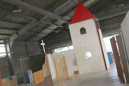 HQバンカー 教会