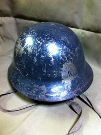 防弾ヘルメットについて 1 (防空鉄帽、九〇式鉄帽)