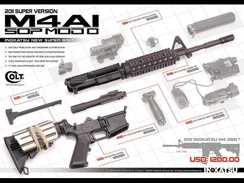 INOKATSU M4A1 SOPMOD 2011ver②