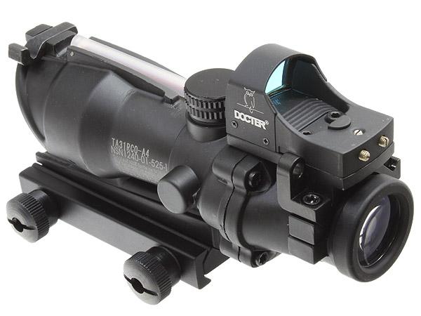 New Trijicon ACOGタイプTA31ECOS 4X32スコープ&Doc Dot (BK)商品画像4