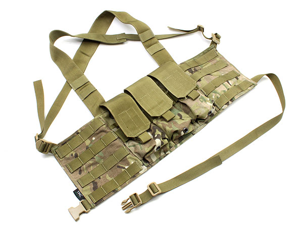 TMC社製 M4 Chest Rig LE 6 Mag ●MOLLEカスタマイズ可能なチェストリグ● 商品画像2