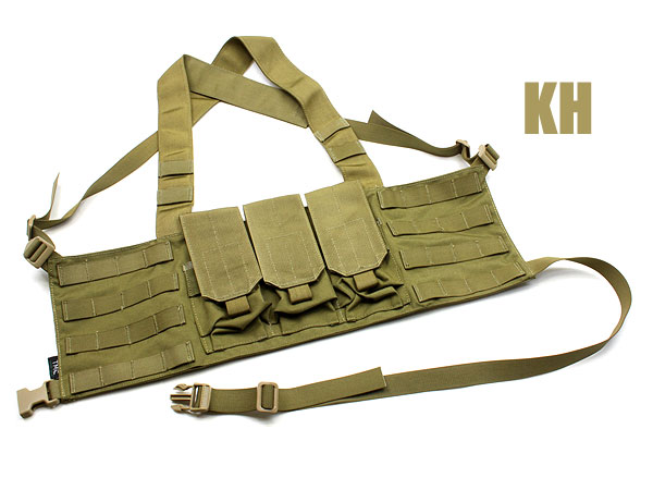 TMC社製 M4 Chest Rig LE 6 Mag ●MOLLEカスタマイズ可能なチェストリグ● 商品画像4