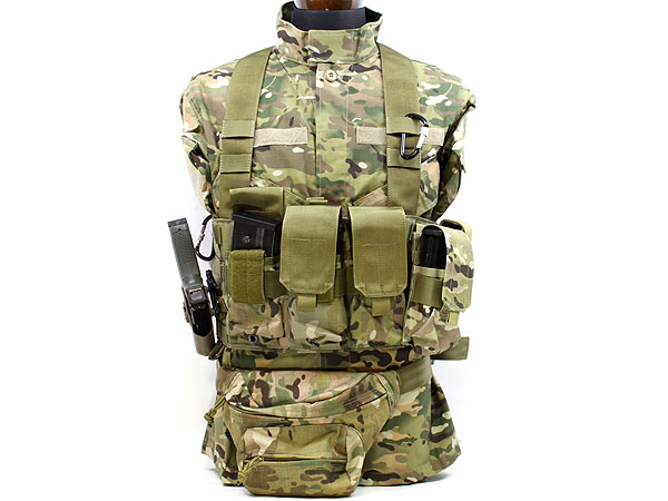 TMC社製 M4 Chest Rig LE 6 Mag ●MOLLEカスタマイズ可能なチェストリグ● 商品画像5
