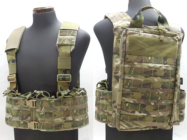 TMC社製 Load Bearing Boar Chest Rig (Multicam Webbing) 1