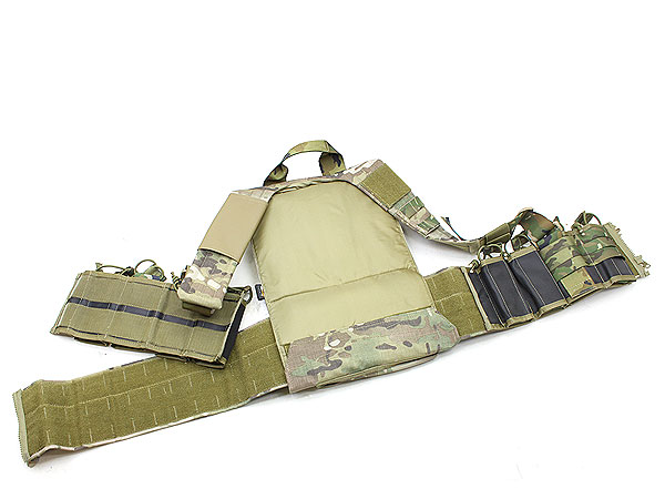 TMC社製 Load Bearing Boar Chest Rig (Multicam Webbing)2