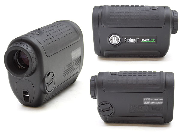 Bushnell SCOUT 1000 5x レーザーレンジファインダー(距離計)2