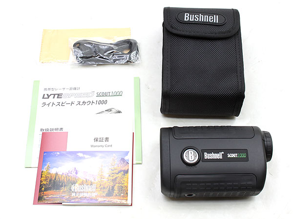 Bushnell SCOUT 1000 5x レーザーレンジファインダー(距離計)5